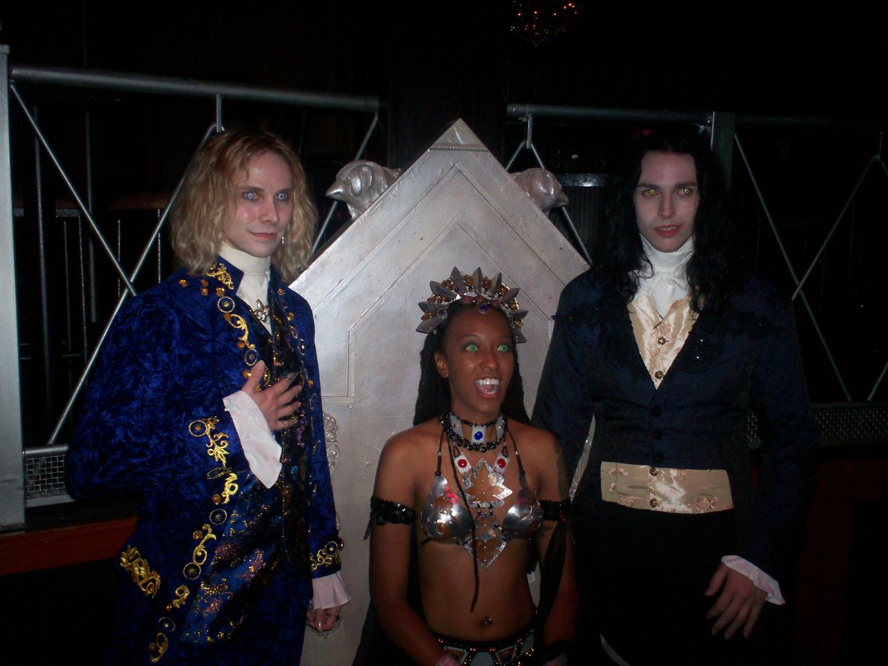 Lestat & Louis with Akasha-Queen of the Damned